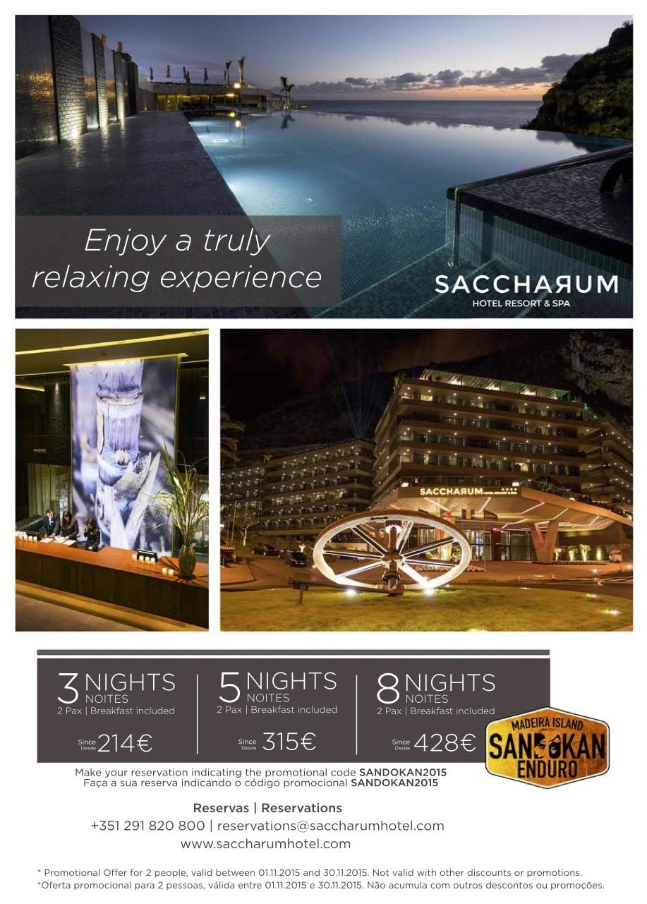 Sandokan Enduro Saccharum Hotel deal